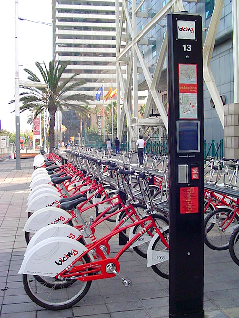 Barcelona's Bicing: The world's first bike-sharing network is shamefully not open to tourists