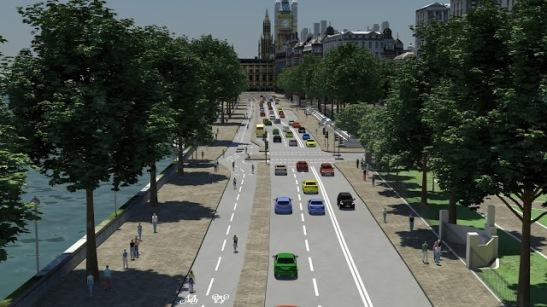 London cyclist crossrail