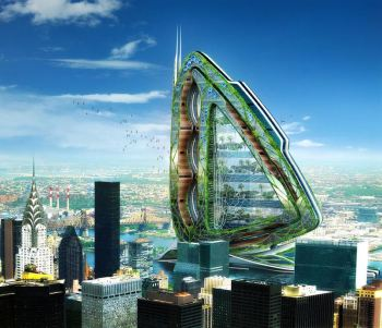 Vincent Callebaut's living, breathing architecture