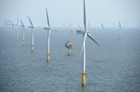 London Array Estuary wind farm