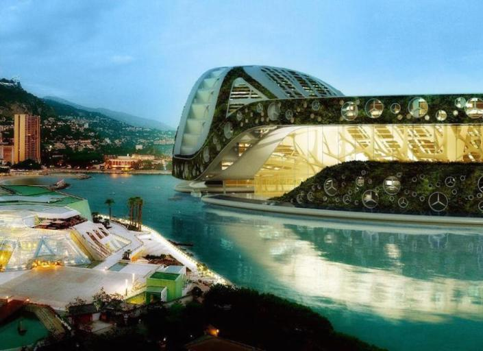 Vincent Callebaut's floating Lilypad